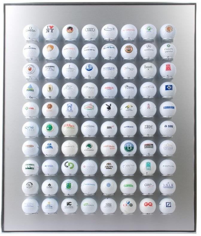 Étagère à balles de golf en aluminium Knix
