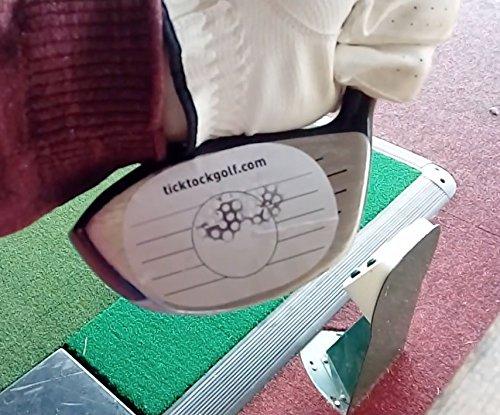 Étiquettes pour impact balle face driver sticker Accessoire de golf