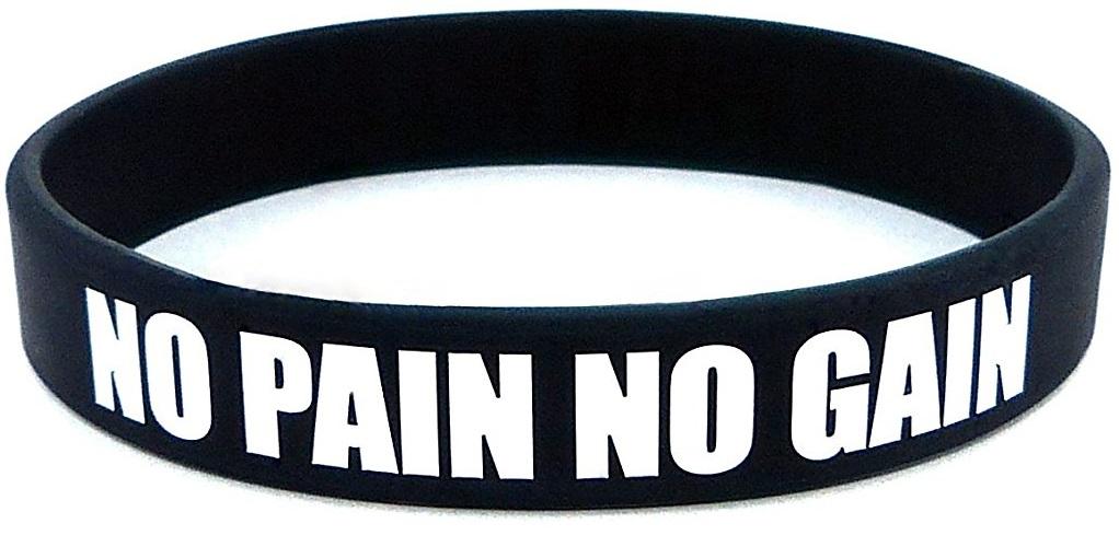 Bracelet de Crossfit No Pain No Gain Cadeau Passionné de crossfit