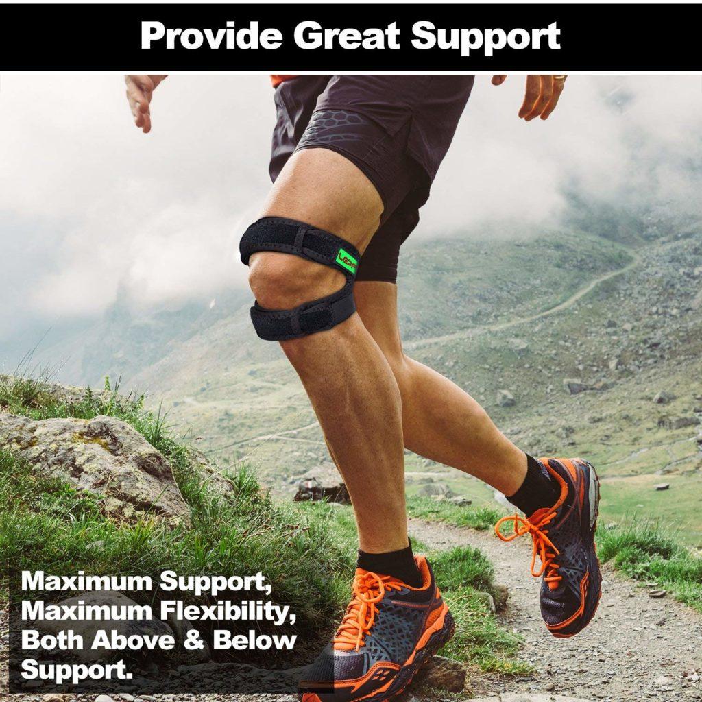 Genouillere pour Crossfit Bandage Rotulien Cadeau Crossfit homme