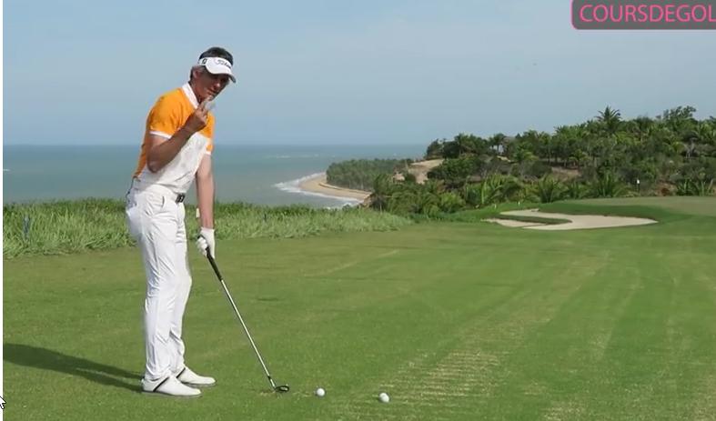 Leçon de golf pour mieux contacter vos wedges