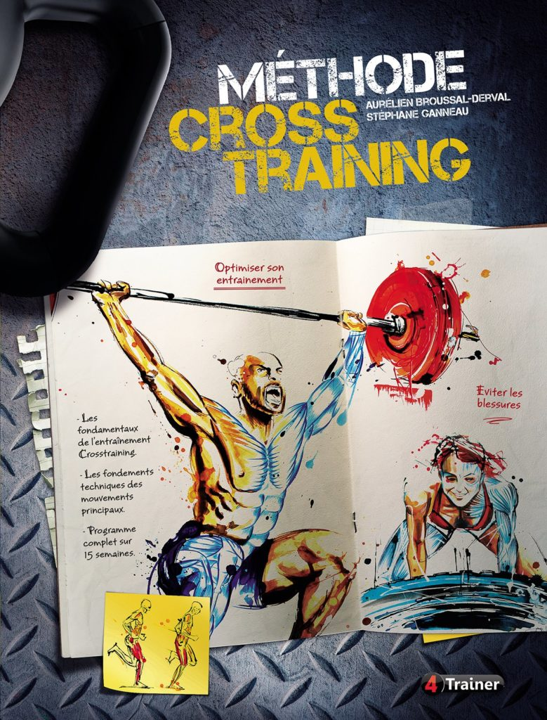 Livre Méthode Cross Training Idée Cadeau thème Crossfit