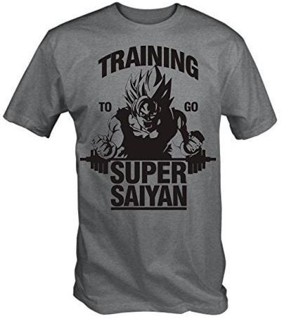 T-Shirt Crossfit entraînement Super Saiyan Idée Cadeau