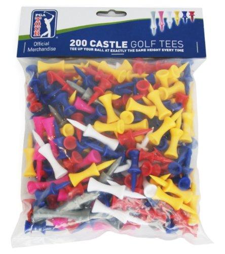 Tees en plastique golf PGA Tour 200 Accessoires de golf