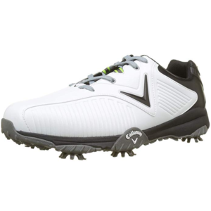 huge selection of 748cb 05225 Chaussures de Golf Homme Callaway Chev Mulligan Blanches et grises