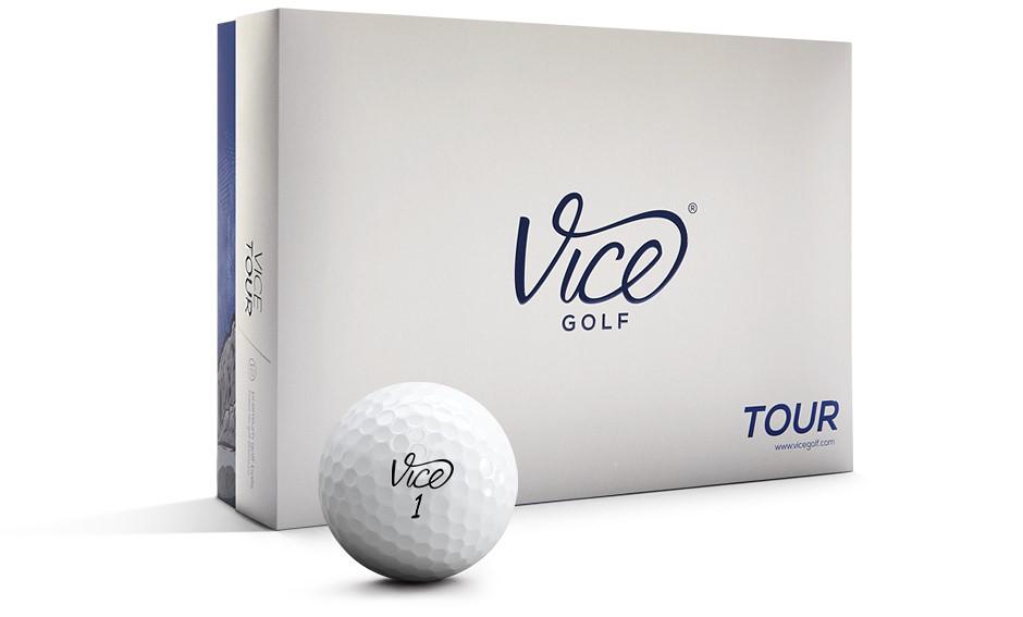 Balles de golf Vice Tour Idée cadeau fan de golf