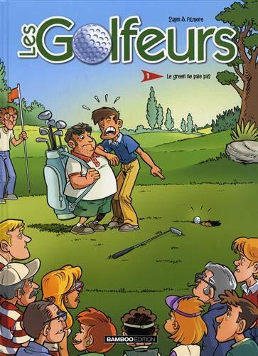 BD Les Golfeurs premier tome illustré cadeau golf