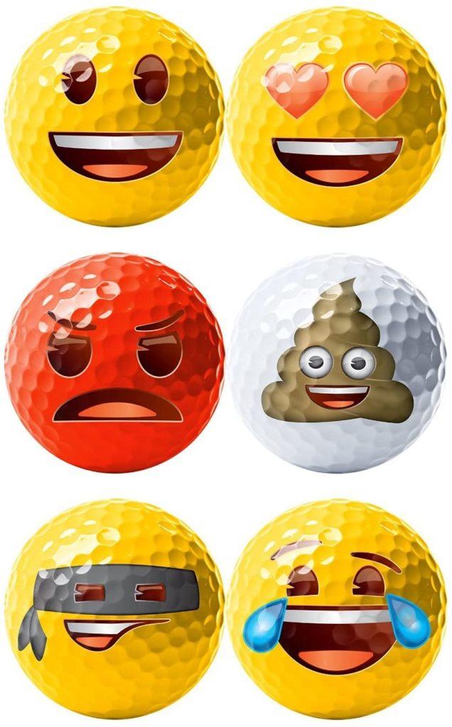 Balles de golf drôles fantaisie Cadeau golfeur ou golfeuse
