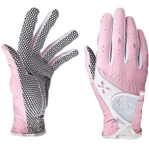Paire de gants de golf pour femme PGM Adhérence améliorée