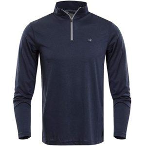 Pull Golf Calvin Klein Homme Harlem Bleu Marine
