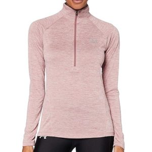 Pull de golf Femme Under Armour Rose