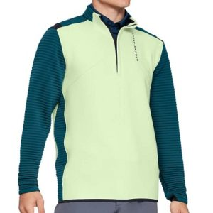 Pull de golf Under Armour Homme Vert