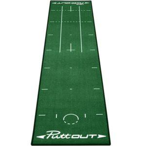 Puttout Pro Golf Tapis de putting 50cm x 240cm