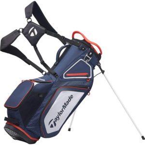 Sac de Golf TaylorMade Pro Stand 8.0 Bleu Blanc Rouge