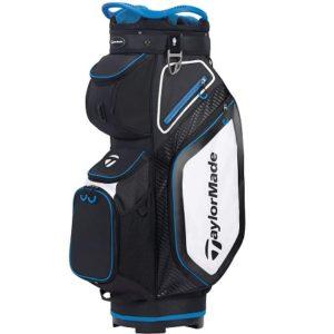 Sac de golf Chariot TaylorMade Pro Cart 8.0 Bleu Blanc Noir