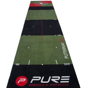 Tapis de putting Pure2improve 65cm x 300cm