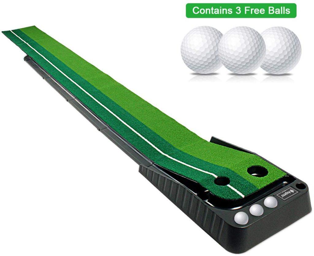 Tapis d'entrainement au putting Cadeau fan de golf