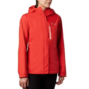 Veste Femme Golf Imperméable Columbia Adventure Orange
