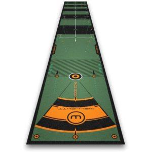 Wellputt Tapis de Putting 4M - Vert 50cm x 400 cm