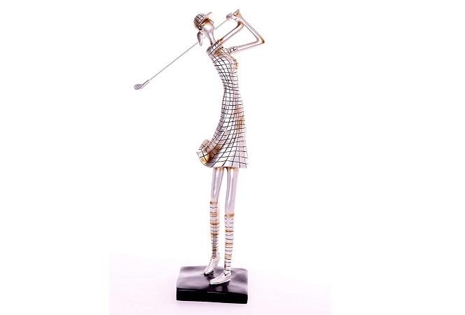 Sculpture Golfeuse Design Contemporain